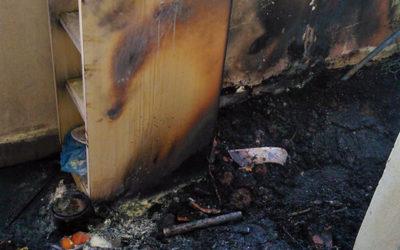 Pohotový zásah strážníků zabránil požáru v bytovém domě