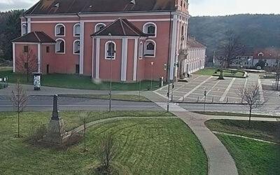 Nová městská kamera bude dohlížet na Mariánské náměstí ve Štípě